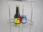 厨房三角架/浴室置物架/精品不锈钢三层架