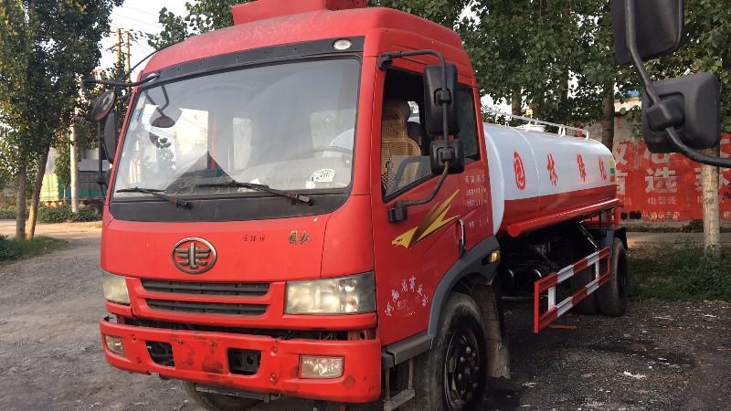 绵阳消防洒水车生产厂家联系电话 有现车