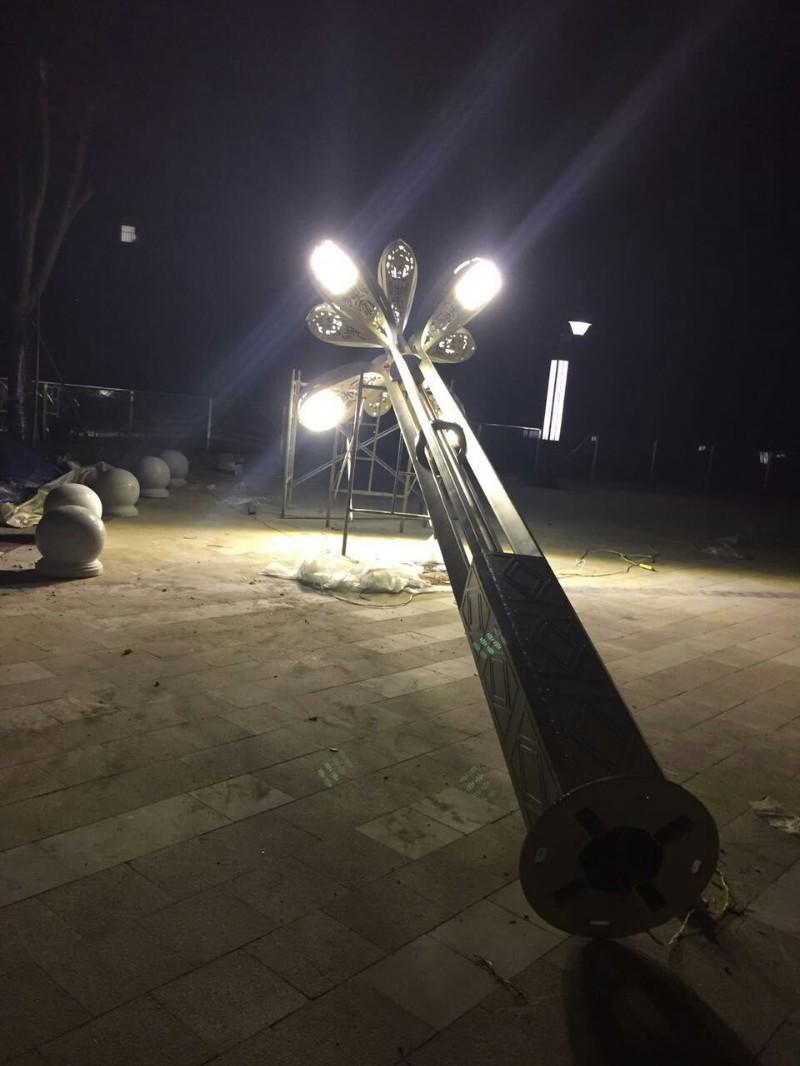 新都l区工业园户外照明路灯 高杆灯 玉兰灯生产厂家价格