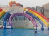 宁夏银川儿童水上乐园投资移动式可拆卸的支架游泳池全套