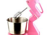 厂家直销电动打蛋器台式手持两用带桶和面家用打蛋搅拌器烘培必备