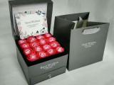 网格纹 灰色斜格纹 格子纹 永生花盒 包装纸 现货一米起订