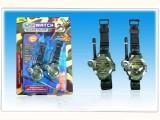 厂家直销 七合一军事手表对讲机 儿童对讲机 亲子师生互动玩具