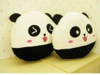 毛绒玩具 快乐熊猫抱枕 靠垫 夏日午休靠枕 厂家直销 情侣礼物