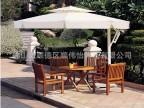 顺伟怡厂家直销豪华单边庭院伞,高档铝合金太阳伞,花园别墅吊伞
