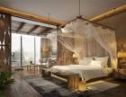 梵木家居提供各类特色酒店空间设计打造 原创艺术实木家具定制