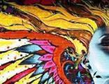 装饰彩绘、涂鸦、墙画、手绘壁画、手绘墙或墙绘点击入
