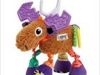 拉玛泽lamaze玩具 多功能驯鹿 牙胶 车床挂床铃 婴幼儿玩具瑕疵款