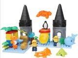 鸿源盛 海底世界大颗粒积木41PCS 动物套装玩具拼装积木 厂家