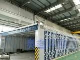 移动式可调节伸缩电控烤漆房洁净打磨房厂家定制