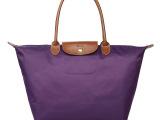 尼龙包女包折叠包欧美时尚单肩包购物袋包大号水饺子包