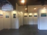 上海浦東新區畫展搭建 上海掛畫展板出租 書畫展覽