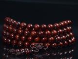 印度小叶紫檀5/6/7/8mm108颗男女款佛珠手链 0.8高密