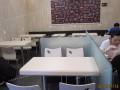 汉堡店桌椅咖啡店桌椅快餐桌椅