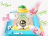 玩具总部总汇互动迷你青蛙保龄球台桌面游戏儿童益智玩具发射台
