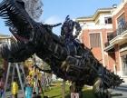 广西大型变形金刚铁艺模型擎天柱大黄蜂出售租赁