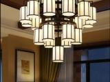 承接各种新中式非标工程定制灯具