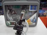 儿童/学生 金属显微镜超豪华28配件手提箱式1200倍生物显微镜
