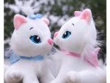 可爱迪斯尼玛丽猫儿童玩偶布娃娃猫咪毛绒玩具生日礼物女批发