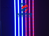 植物店 花市led照射灯管 660nm粉红led日光灯 生鲜灯植