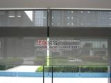 窗帘成品定做阳台办公楼防火阻燃卷帘 既遮