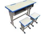 河南厂家促销课桌椅单人双人桌椅学校学生课桌书桌量大从优