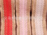 服装辅料织带麻绳编织带DIY工艺装饰蕾丝麻绳卷缎带织带 批发