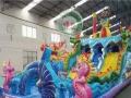 孩子最喜欢的水上乐园水滑梯是它——哪吒闹海支架水池 大闹龙宫