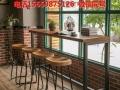 销售欧美工业风 奶茶店咖啡馆餐桌椅