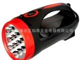 厂家直销 12颗LED手提探照灯 移动探照灯 广告礼品促销LED
