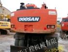 转二手挖掘机斗山150-7轮挖,低价转了,全国包送