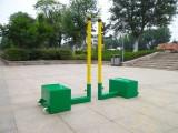 三江县学校打气排球柱,羽毛球柱多少钱一副