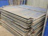 二手旧围挡工地施工彩钢挡板出售转让价格便宜