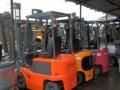 新款1.5吨电动叉车 进口丰田/小松电瓶二手叉车