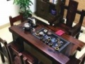 湖州老船木茶桌椅组合批发实木茶几功夫茶艺桌