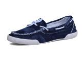 低帮 新款帆布鞋韩版男士休闲鞋子 牛仔布一脚蹬懒人鞋单鞋潮男鞋