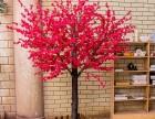 仿真桃花树大型植物室内装饰假樱花树婚庆酒店商场摆设假桃树定制