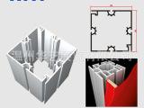 展览展示 特装展位搭建 热转印布方柱 80四槽方柱卡布 特装效果