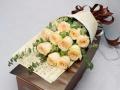 新密鲜花店圣诞节情人节玫瑰生日鲜花开业花篮预订送花