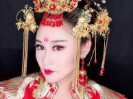 单县结婚跟妆 新娘盘发造型 单县新娘跟妆早妆 承接大型舞台妆