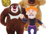 正版熊出没 毛绒玩具 熊大熊二光头强毛绒公仔批发 加盟代理