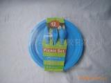 供应盘子,供应12件套塑料环保套餐