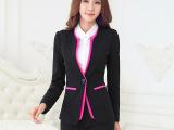 职业女装 春秋冬韩版OL修身女式三件套面试小西服套装工作服代理