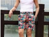 4.3块男装韩版热销沙滩裤 男式夏装短裤 男士休闲裤