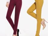2015春季新款高腰高弹提臀紧身修身显瘦小脚铅笔裤女