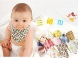 夏季赠品批发可挑全棉三角巾宝宝婴儿口水巾儿童加厚围巾围嘴百搭