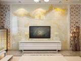 佛山厂家 瓷砖大理石背景墙 欧式简约客厅