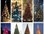 高端大型灯光圣诞树场地布置卡通圣诞老人活体鹿展览租