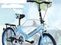 20英寸折叠自行车,变速自行车