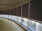 學校辦公窗簾 防曬隔熱卷簾 會議室工程遮陽窗簾 工程卷簾